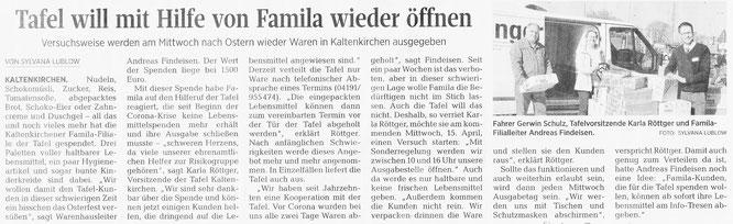 Segeberger Zeitung 08.04.2020