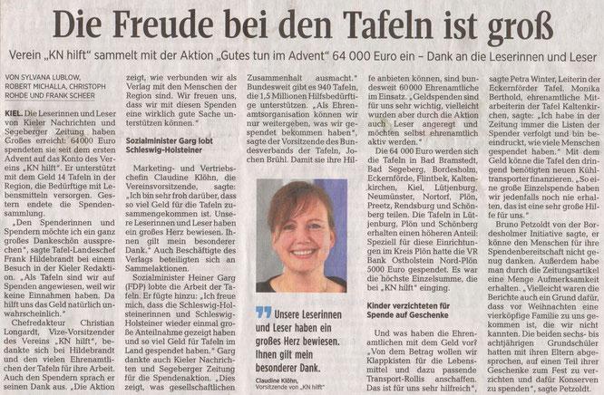 Segeberger Zeitung 05.01.2019