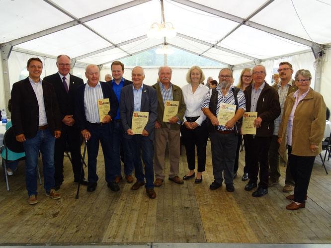 Vereinsmitglieder Gartenstadt Waltrop wurden geehrt