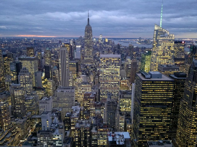 Top Of The Rock Vs Empire State Building Wie Sie New York City Am