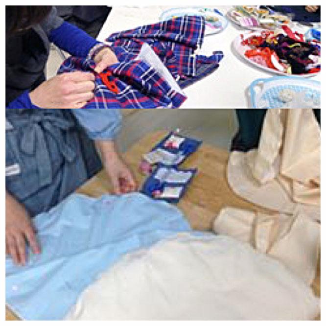 ママの手作り教室 「トッポンチーノやレッスンバッグ作り」