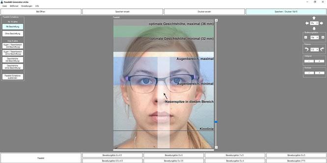 Biometrische Passfotos, Passbilder sofort zum Mitnehmen. Nur im Geschäft Gollierstraße 34