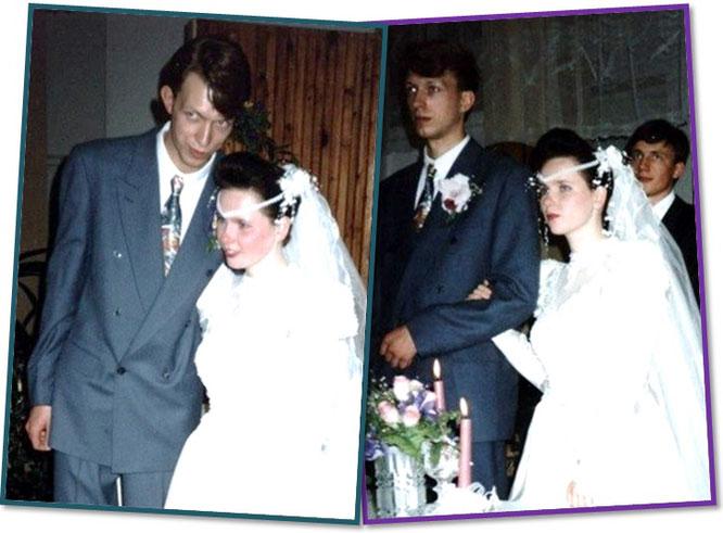 Свадьба Сергея Черепанова в 1994 году