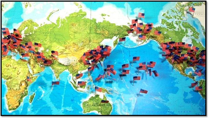 Американские базы раскиданы по всему миру