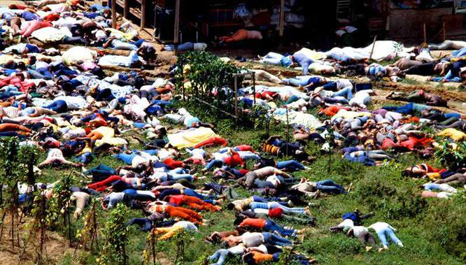 1978 год. 914 трупов верующих на гайянском солнце