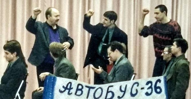 Участвую в сценке на Михалковской, 36