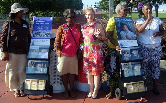 Настя на конгрессе в Атланте, 2014 год