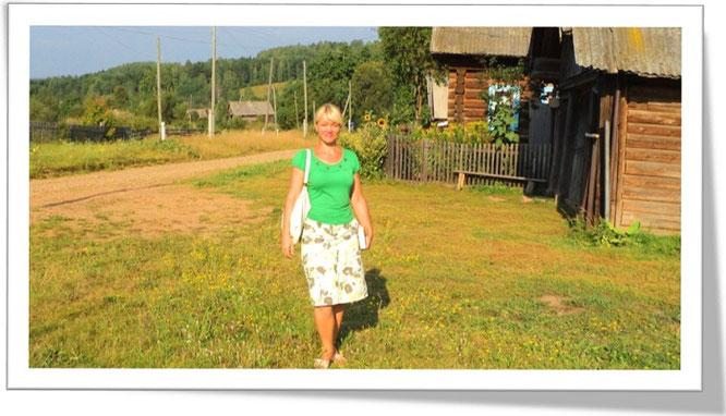 Проповедую в деревнях возле Осы