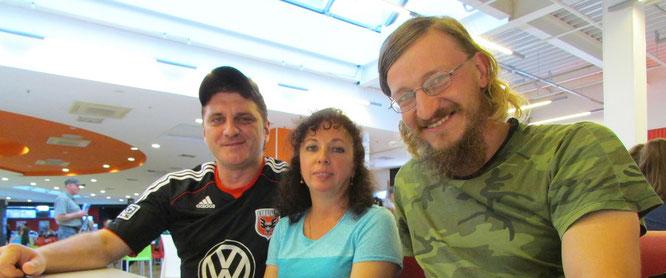 Иван с семьей Ковтунов