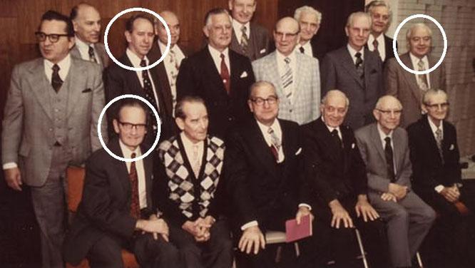 Руководящий совет Свидетелей Иеговы середины 1970-х годов