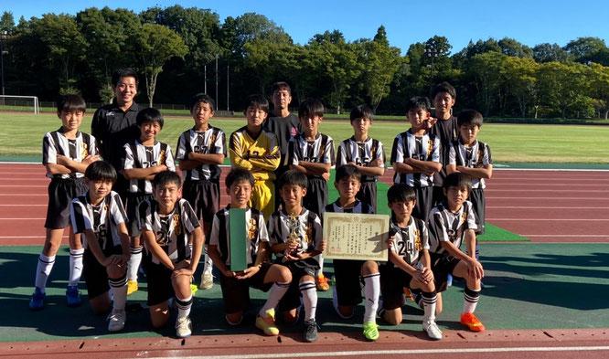 千葉県U-11サッカー選手権大会 ベスト32 於:八千代総合公園