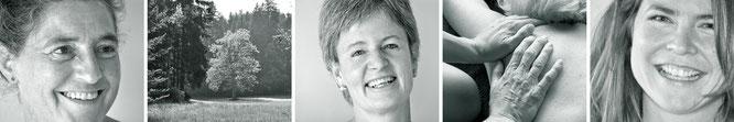 Erblühende Weiblichkeit, Barbara Schmid, Referenzen, Frauen, Porträt, Praxis, Hände, Natur