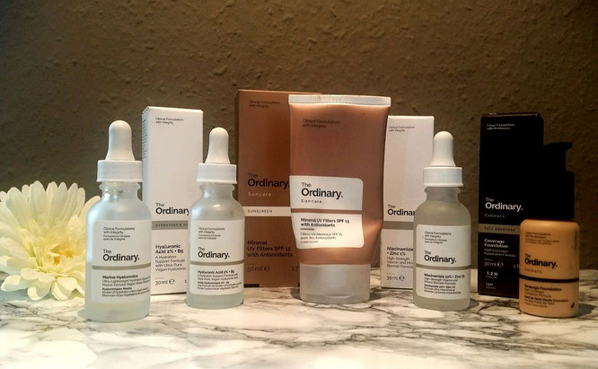 Morgenroutine by The Ordinary