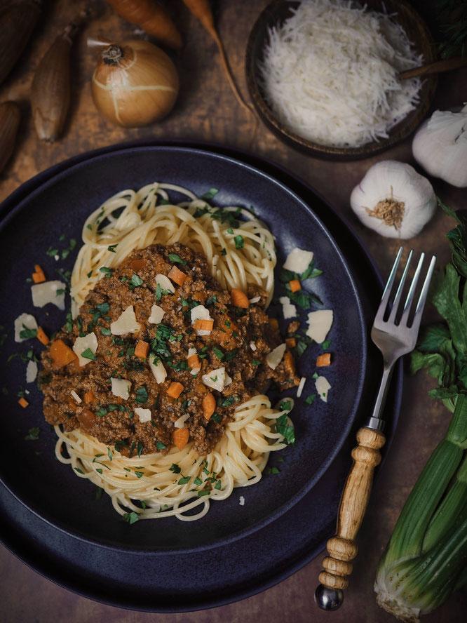 Klassisch italienische Spaghetti Bolognese