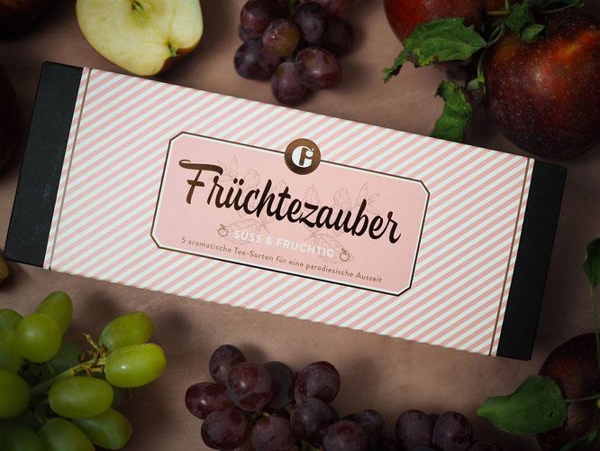 """Tee-Set """"Früchtezauber"""" von MEIN GENUSS"""