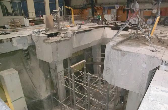 erschütterungsfreier Rückbau, Engel GmbH, Kernbohrungen