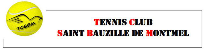 Logo du Tennis Club de Saint Bauzille de Montmel