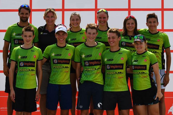 Das erfolgreiche 3star cats Juniorenteam bei der Schweizermeisterschaft 2019 in Nyon