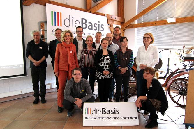 Vorstand dieBasis LV Mecklenburg-Vorpommern