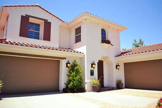 Casa, villa, immobile, giardino, edilizia, costruzioni