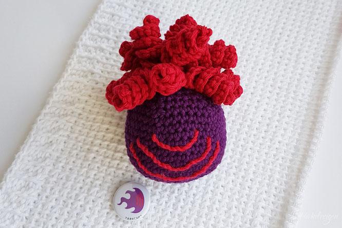 Yarncamp Maskottchen