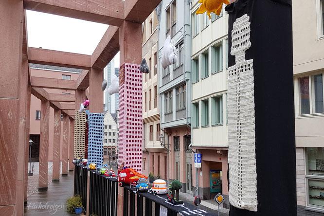 Yarncamp Frankfurt Yarnbombing