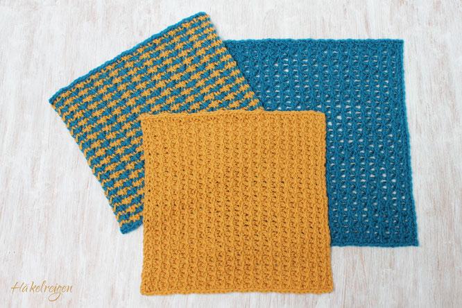 Entwined Triangle Pattern Tuinisan Crochet Haekelreigen