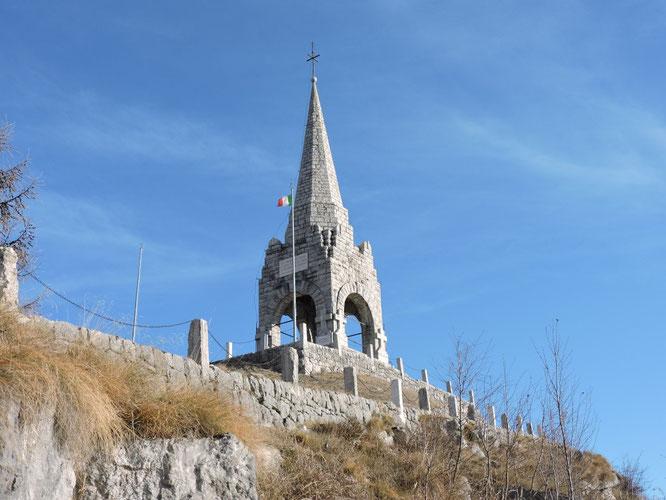 L'ossario del Monte Cimone