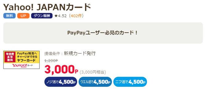 ポイ活サイト経由で3,000円稼げる