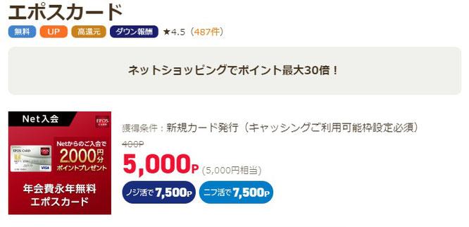ポイ活サイトで無料で5000円の月収