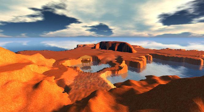 Uluru - terraforming in corso