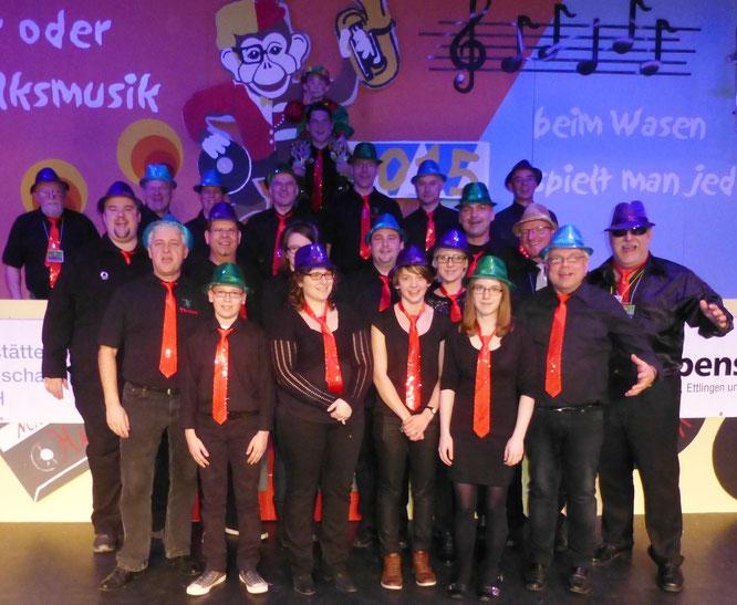 """2015 - """"Froschbacher-Party-Band"""" bei der HWK/WCC-Gemeinschaftssitzung"""