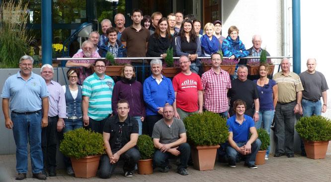 2012 - Probenwochenende in der JH Speyer