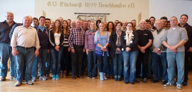 """2013 - Probenwochenende beim GSV """"Edelweiß"""" Bruchhausen e.V."""