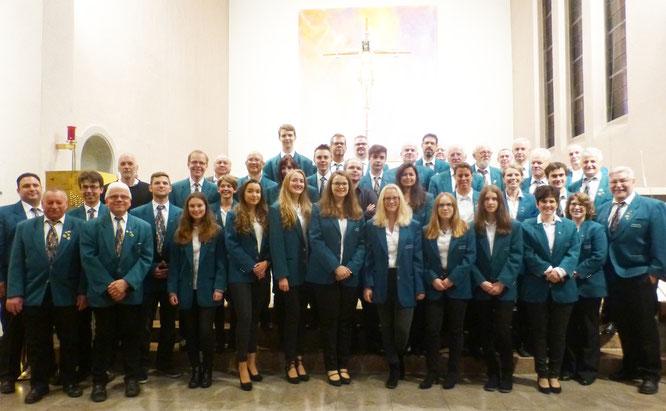 """2017 - Blasorchester beim """"Konzert in St. Josef"""""""