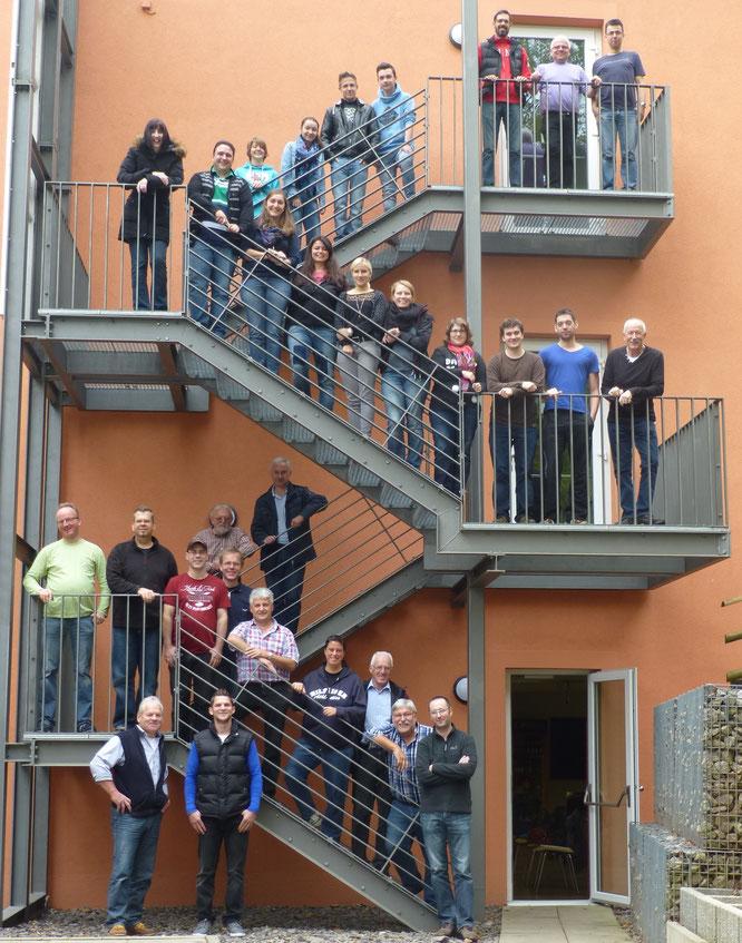 2014 - Probenwochenende in der JH Bad Bergzabern