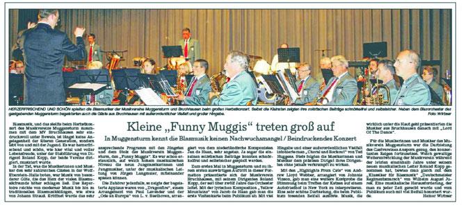 BNN Bericht Gemeinschaftskoznert in Muggensturm 13.11.2010