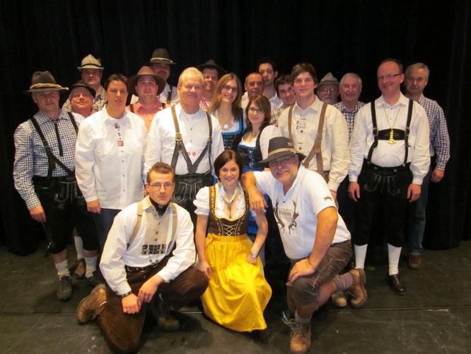 2012 - WCC Prunksitzung in der Schloßgartenhalle Ettlingen