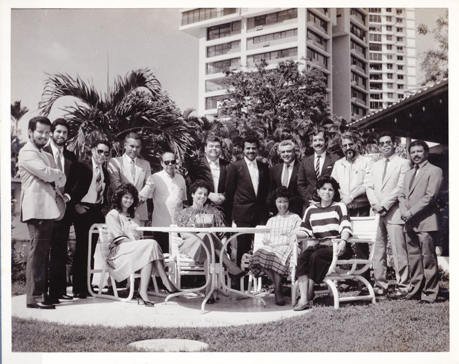 Comité Organizador del IV Congreso Nacional de Arquitectura (1987)