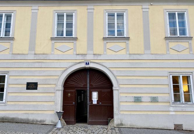 Das Haus Hauptplatz 7 in Drosendorf