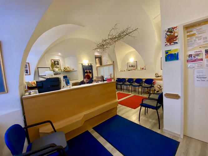 Empfang / Ordination Dr. Kirchweger in Drosendorf