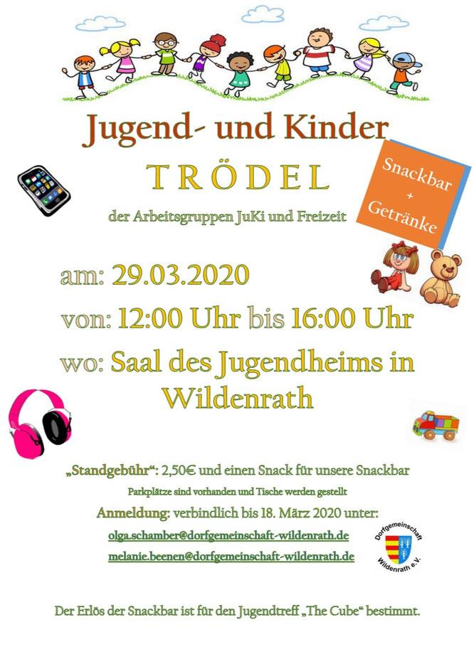 Kinder Trödelmarkt Wildenrath Dorfgemeinschaft