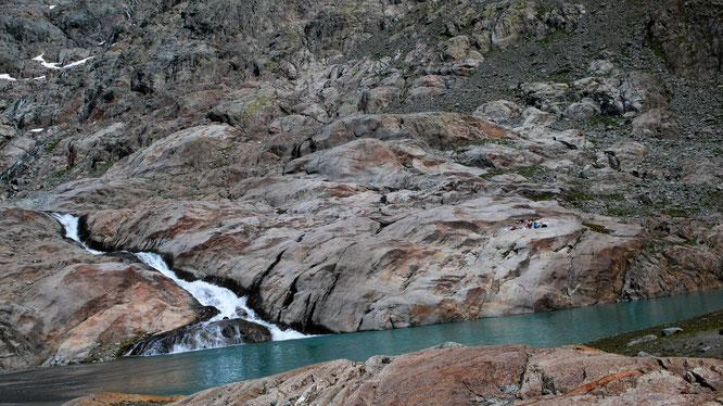 Steiniges Paradies im Lötschental - Blauseeli