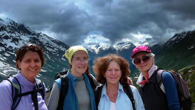 Lanita, Paula, Katja und Diane