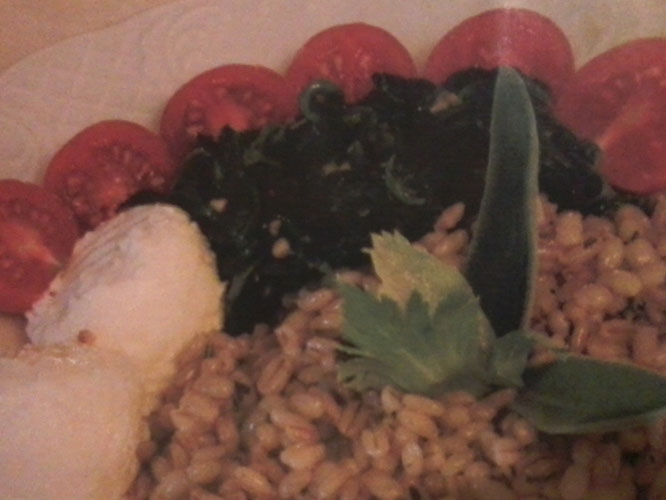 Orzo perlato con verdure