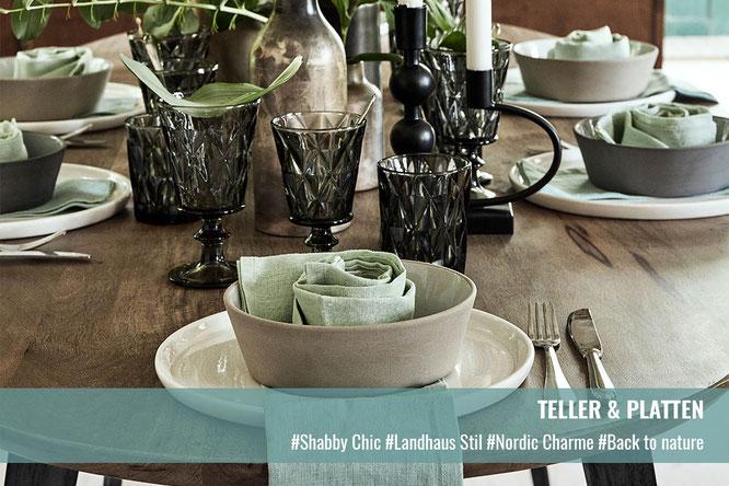 Teller & Platten | Krempel & Gedoens