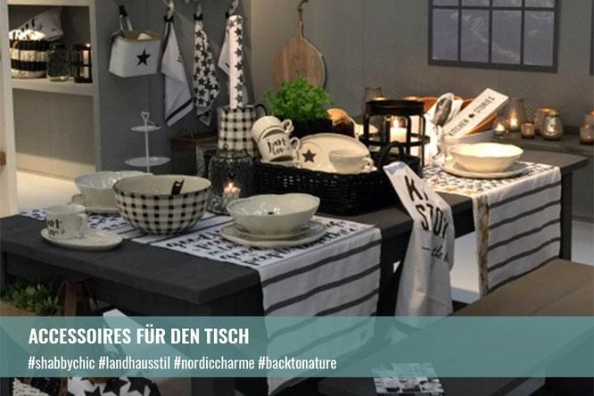 Accessoires für den Tisch | Krempel & Gedöns