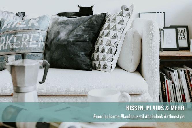 Kissen, Plaids & mehr | Krempel & Gedöns