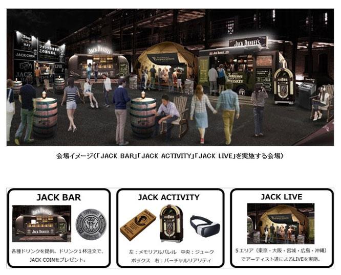 【ジャック ダニエル】JACK DANIEL'S Experience 2017 Japan
