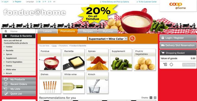 fondue online kaufen